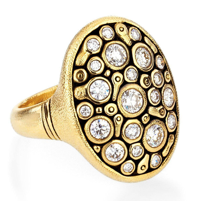 18K Constellation Diamond Dome Ring - R-141D-Alex Sepkus-Renee Taylor Gallery