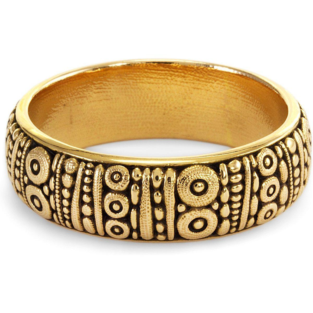 18K Carved Band - R-22M-Alex Sepkus-Renee Taylor Gallery