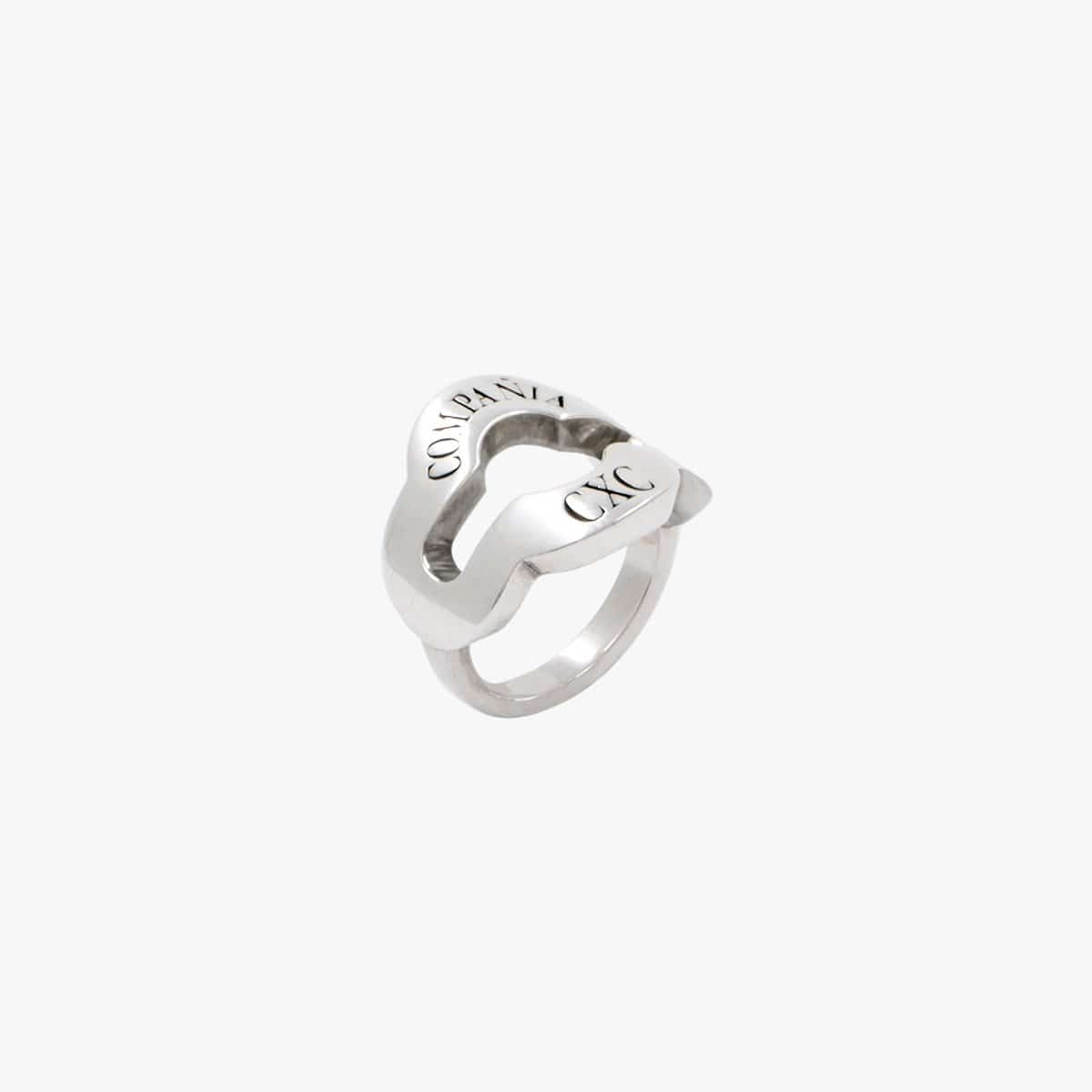 Sterling Silver Plated Ring - R0053 MET