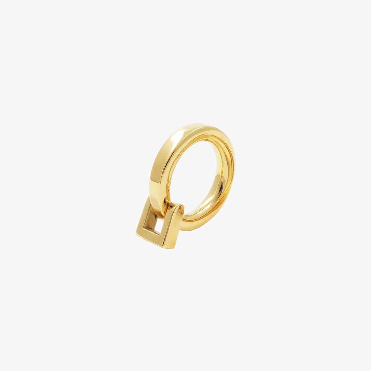 Gold Plated Ring - R0054 ORO-CXC-Renee Taylor Gallery