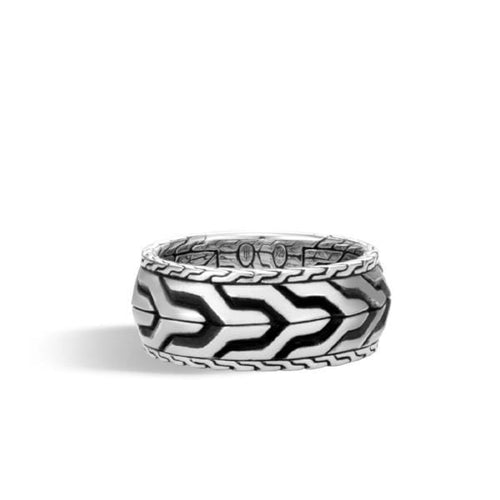 Classic Chain Men's Link Band Ring - RM90305-John Hardy-Renee Taylor Gallery