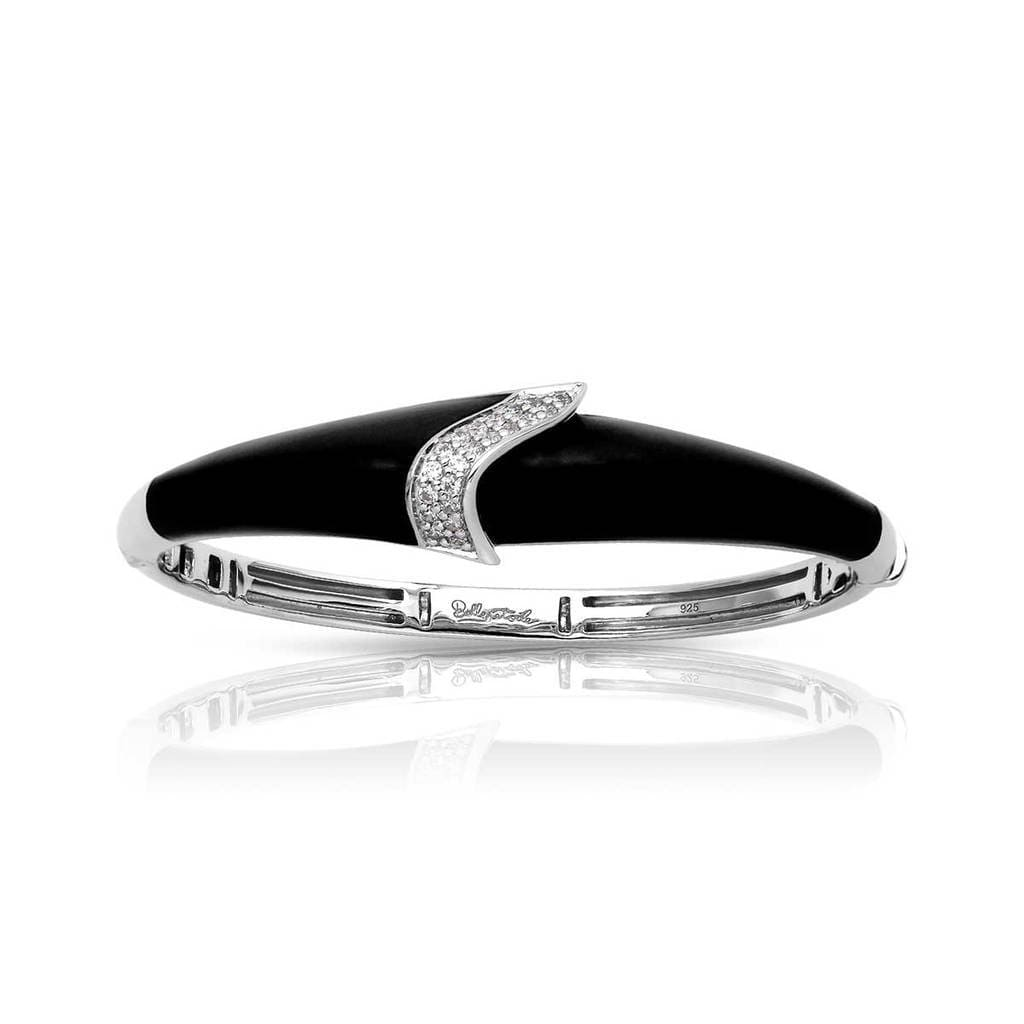 Riva Black Bangle-Belle Etoile-Renee Taylor Gallery
