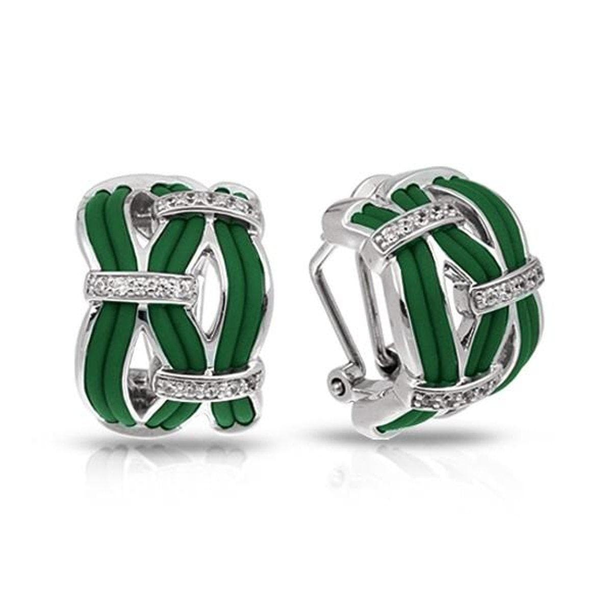 Riviera Emerald Earrings-Belle Etoile-Renee Taylor Gallery