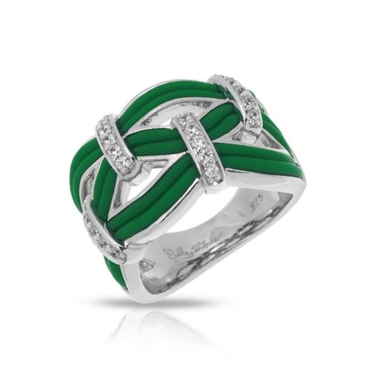 Riviera Emerald Ring-Belle Etoile-Renee Taylor Gallery