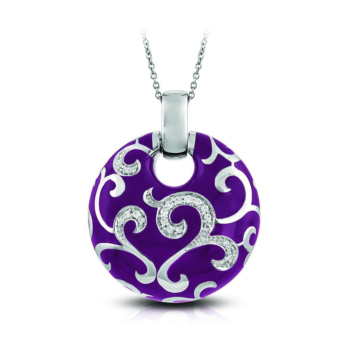 Royale Dark Orchid Pendant