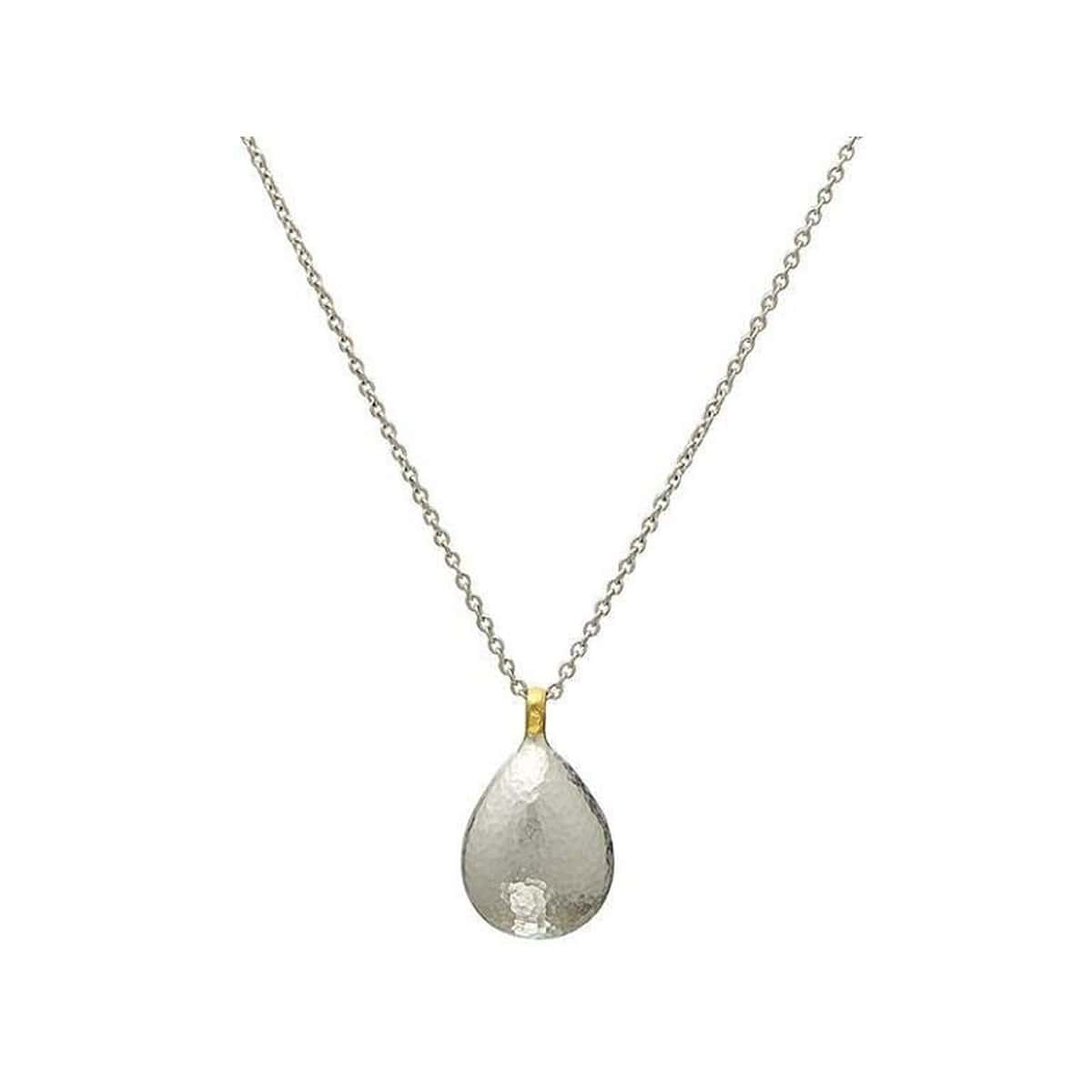 Spell Sterling Silver Necklace - SCHN-PDR2015W-SB-18-GURHAN-Renee Taylor Gallery