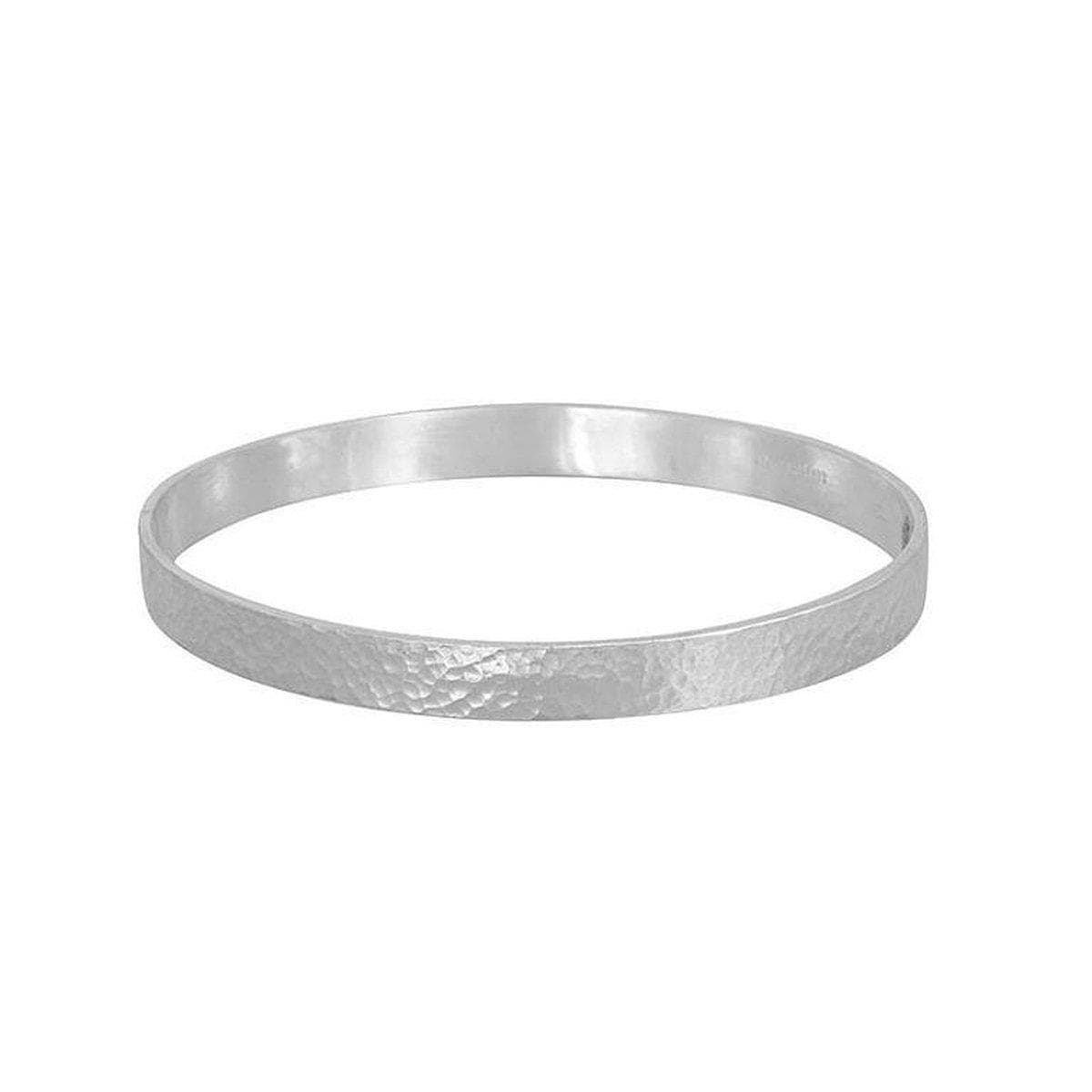 Mango Sterling Silver Bangle - SNB-RTMN-SN-S-GURHAN-Renee Taylor Gallery