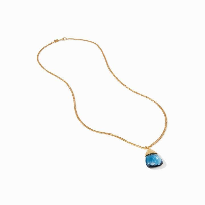 Savannah Gold Clear Chalcedony Pendant Necklace - P150GICA00-Julie Vos-Renee Taylor Gallery