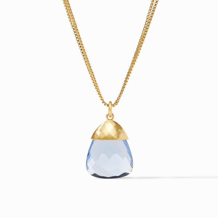 Savannah Gold Clear Crystal Pendant Necklace - P150GRC00-Julie Vos-Renee Taylor Gallery
