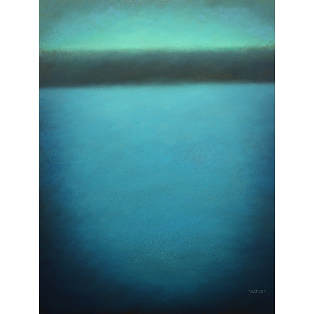 """The Landscape in Turquoise""-Christopher Jackson-Renee Taylor Gallery"