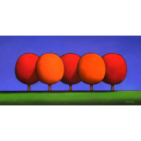 """The Red & Orange Trees Mix Well Together"" - Christopher Jackson"