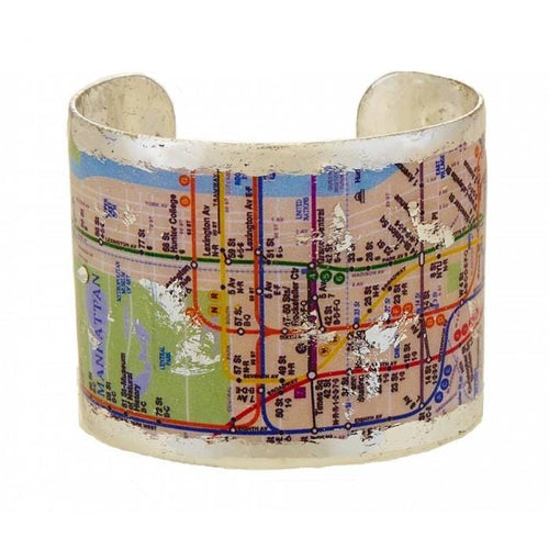 NYC Subway Cuff - VO1017-Evocateur-Renee Taylor Gallery