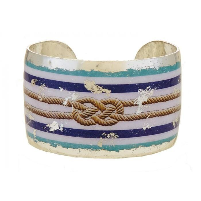Nautical Knot Cuff - VO1018-Evocateur-Renee Taylor Gallery