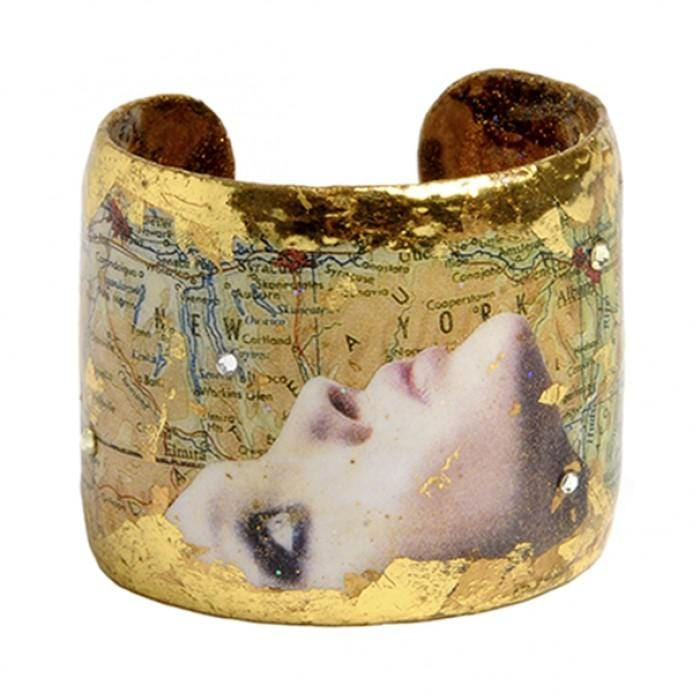 Evocative Travels New York Cuff - VO102-Evocateur-Renee Taylor Gallery