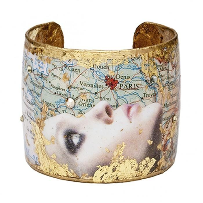 Evocative Travels Paris Cuff - VO103-Evocateur-Renee Taylor Gallery