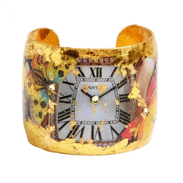 Time Flies Cuff - VO107-Evocateur-Renee Taylor Gallery