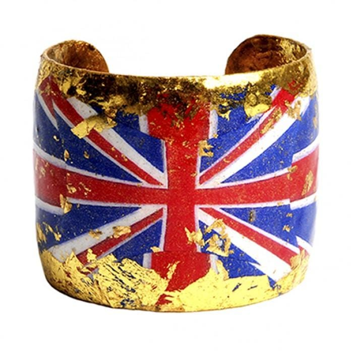 Union Jack Cuff - VO108-Evocateur-Renee Taylor Gallery