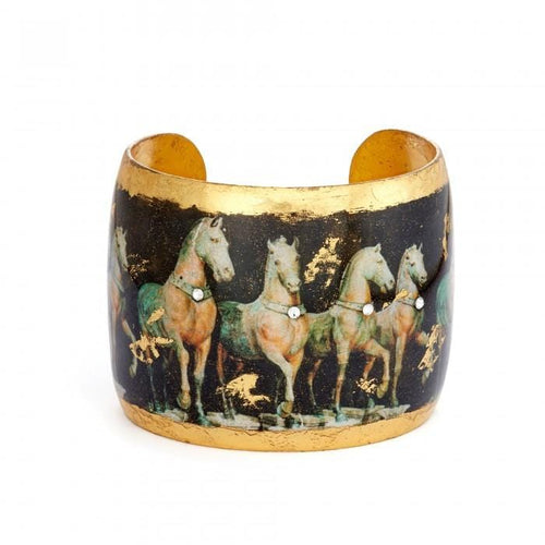 "Cavalli Horse 2"" Cuff - VO1097-Evocateur-Renee Taylor Gallery"