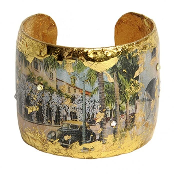 Vintage Palm Beach Arches Cuff - VO112-Evocateur-Renee Taylor Gallery