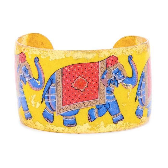 Indian Elephant Cuff - VO117-Evocateur-Renee Taylor Gallery