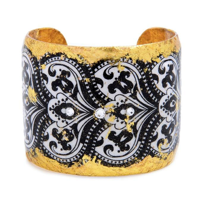 New Orleans Gold Cuff - VO118-Evocateur-Renee Taylor Gallery