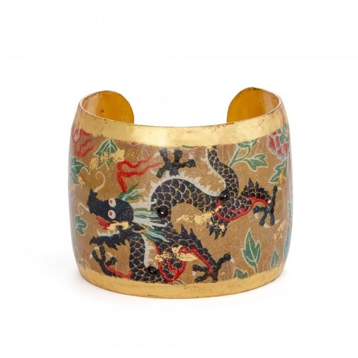 Black Dragon Cuff - VO1211-Evocateur-Renee Taylor Gallery