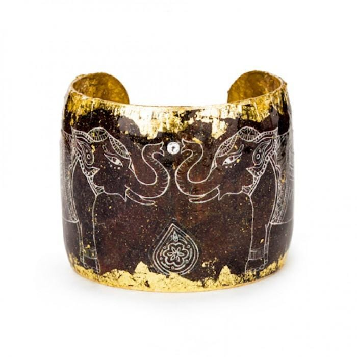Delhi Elephant Cuff - VO143-Evocateur-Renee Taylor Gallery