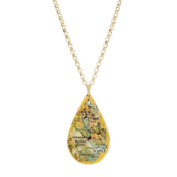 Rome Travels Pendant - VO222-Evocateur-Renee Taylor Gallery