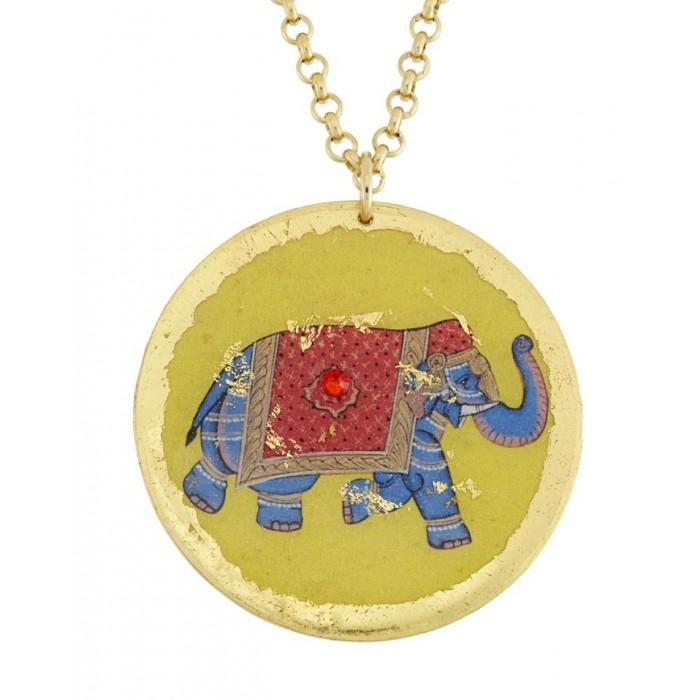Indian Elephant Pendant - VO226