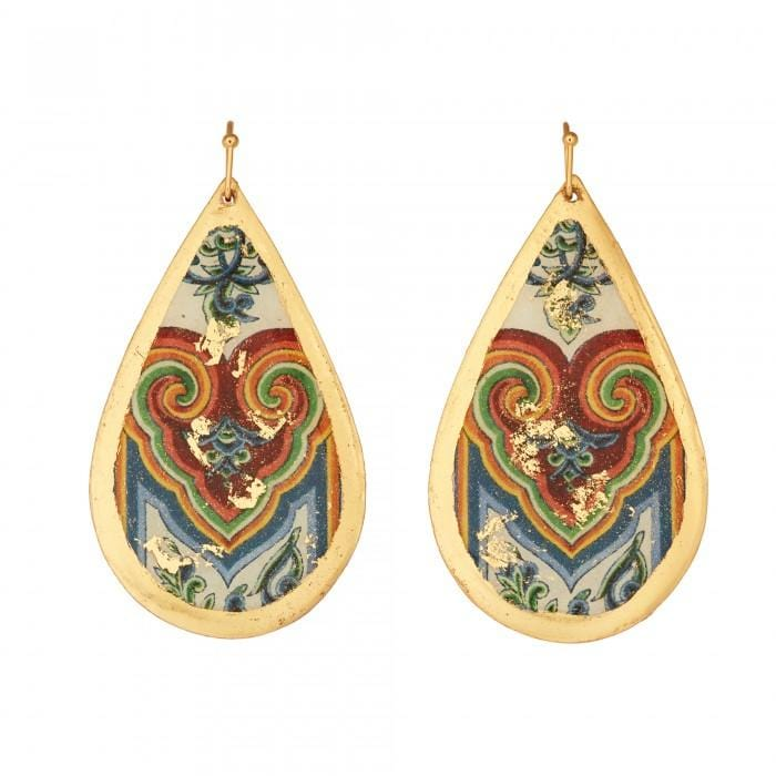 Le Coeur Teardrop Earrings - VO4008-Evocateur-Renee Taylor Gallery