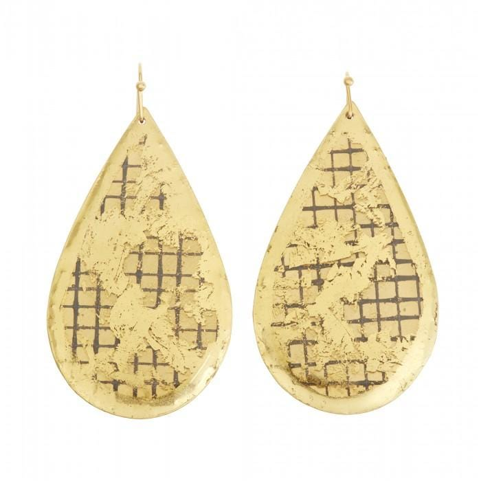 Denmark Teardrop Earrings - VO4100-Evocateur-Renee Taylor Gallery