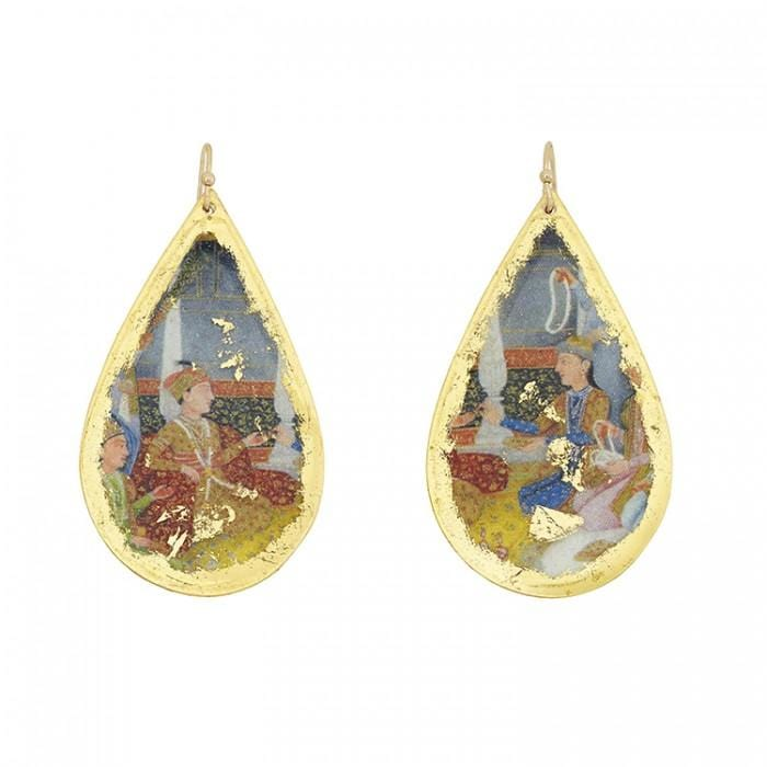 The Engagement Teardrop Earrings - VO473-Evocateur-Renee Taylor Gallery