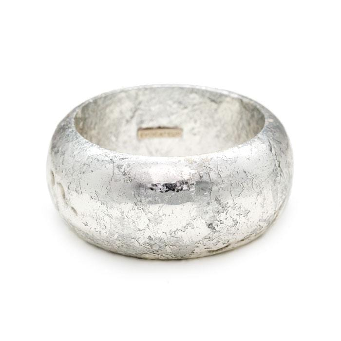 Island Silver Bangle - VO505-Evocateur-Renee Taylor Gallery