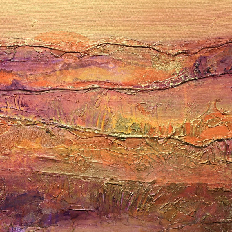 """Vibrant Hills""-Jan Sitts-Renee Taylor Gallery"