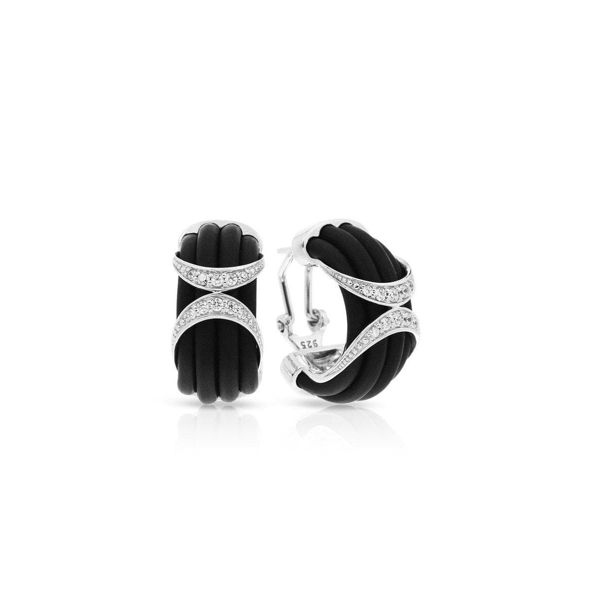 Xena Black Earrings-Belle Etoile-Renee Taylor Gallery