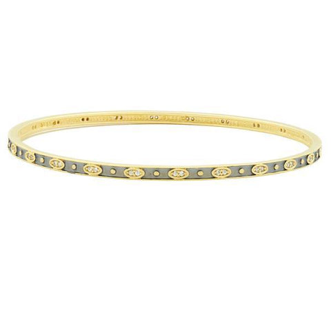 Signature Single Slide Bangle Bangle - YRZB080162B-Freida Rothman-Renee Taylor Gallery