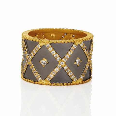 Signature Cigar Band Ring - YRZR090056B-Freida Rothman-Renee Taylor Gallery