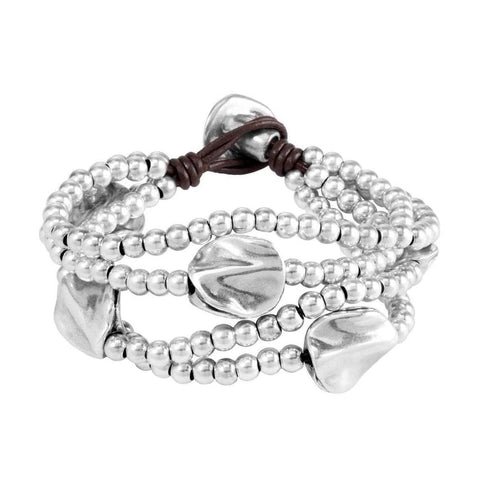 A Beautiful Mind Bracelet - PUL0854MTLMAR0M-UNO de 50-Renee Taylor Gallery