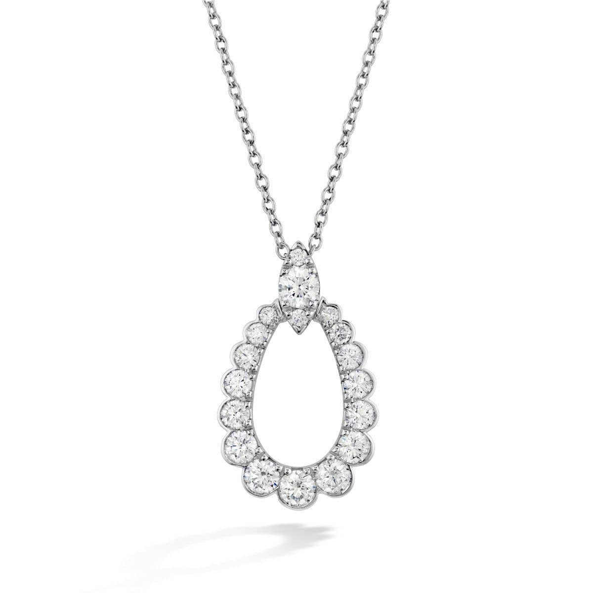 Aerial Regal Teardrop Diamond Pendant & Chain - HFPAREGT00858-Hearts on Fire-Renee Taylor Gallery
