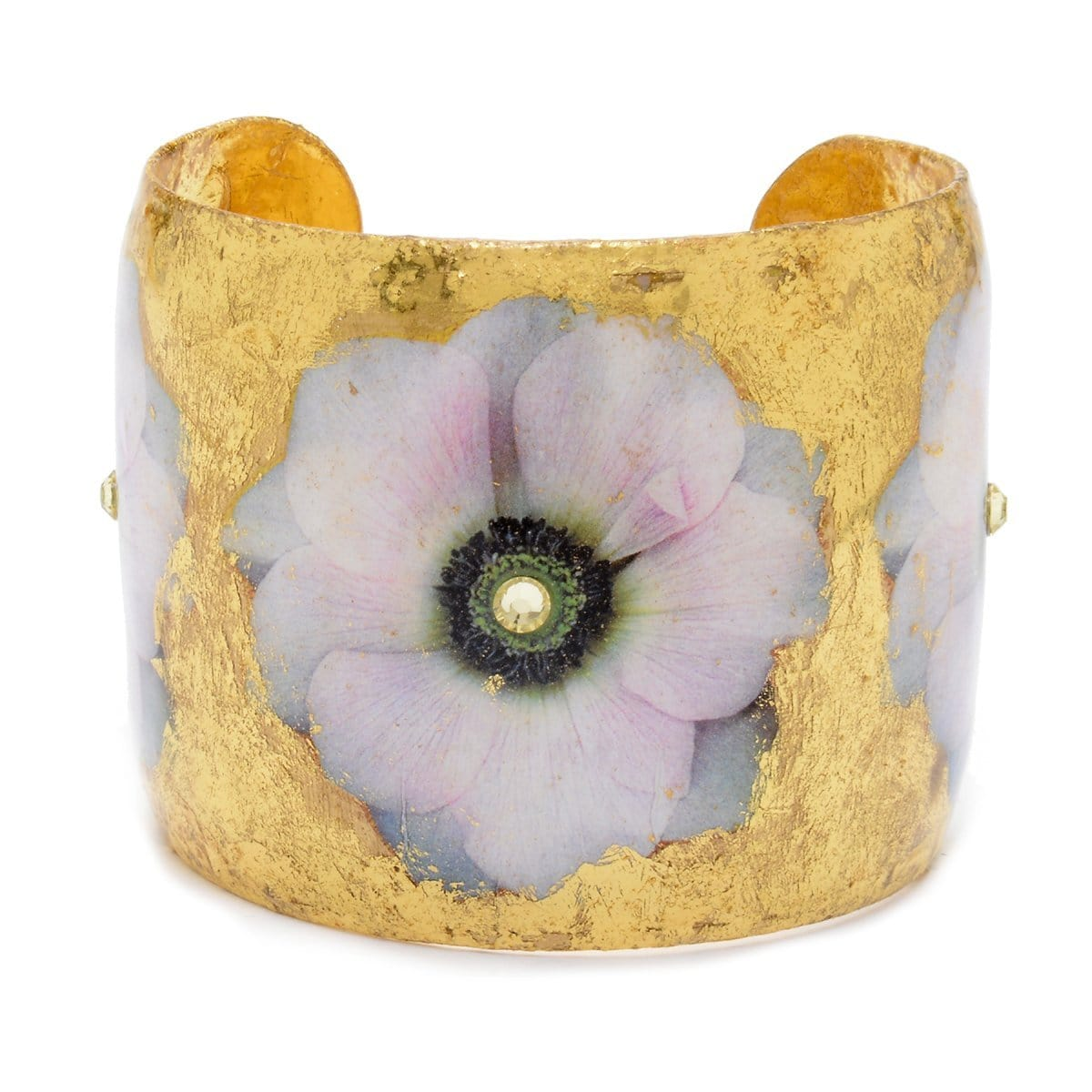"Anemone 2"" Gold Cuff - GN127 30903-Evocateur-Renee Taylor Gallery"