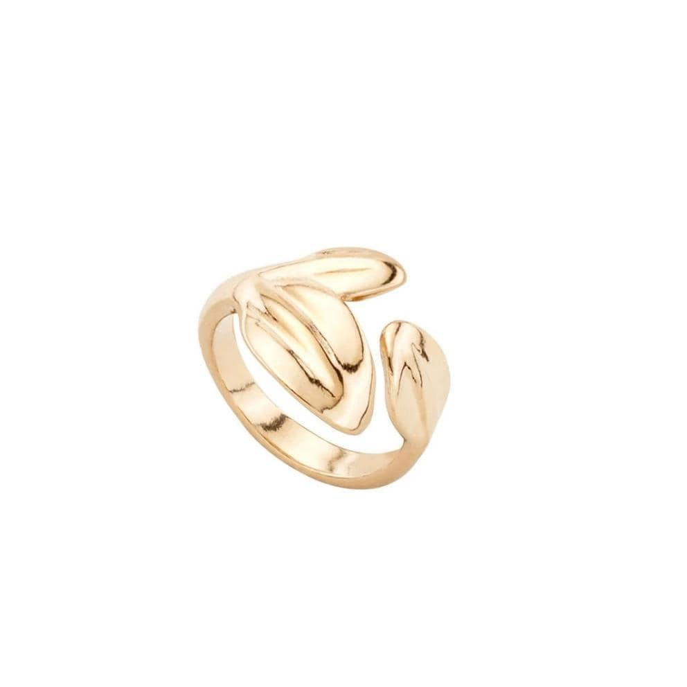 Leaf Me Alone Gold Ring - ANI0602ORO0-UNO de 50-Renee Taylor Gallery
