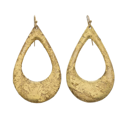 Athena Gold Earrings - AC425-Evocateur-Renee Taylor Gallery