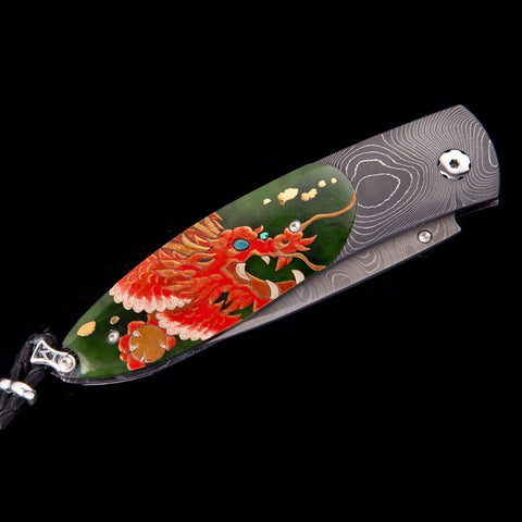 Monarch Silver Dragon Limited Edition Knife - B05 SILVER DRAGON-William Henry-Renee Taylor Gallery