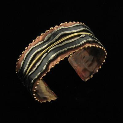 B076 Cuff-Creative Copper-Renee Taylor Gallery