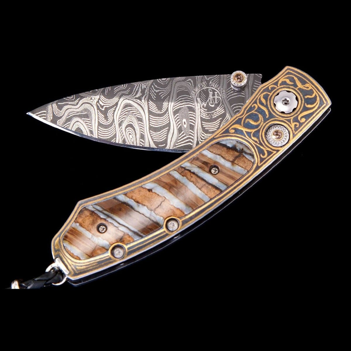 Kestrel 'Destiny' Limited Edition Knife - B09 'DESTINY'-William Henry-Renee Taylor Gallery