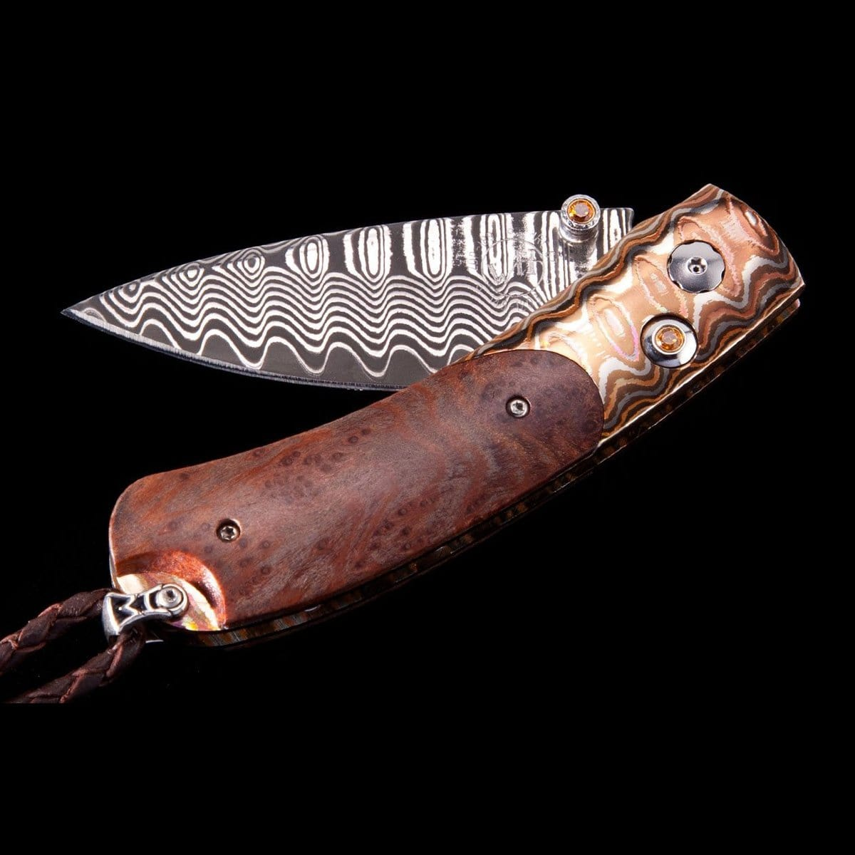 Kestrel Redwood Limited Edition Knife - B09 REDWOOD - William Henry