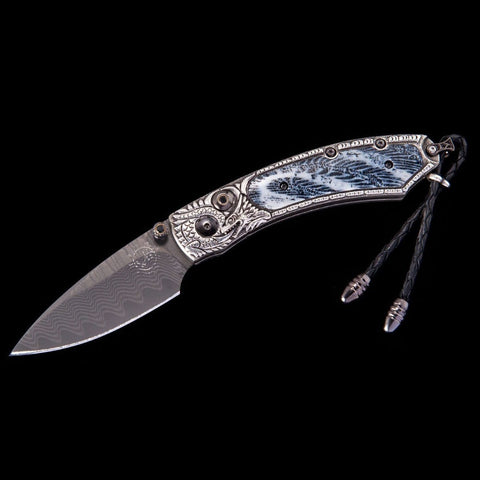 Kestrel Silver Lair Limited Edition Knife - B09 SILVER LAIR-William Henry-Renee Taylor Gallery