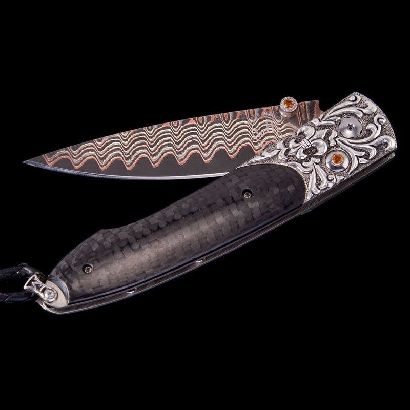 Lancet Auburn Limited Edition Knife - B10 AUBURN-William Henry-Renee Taylor Gallery