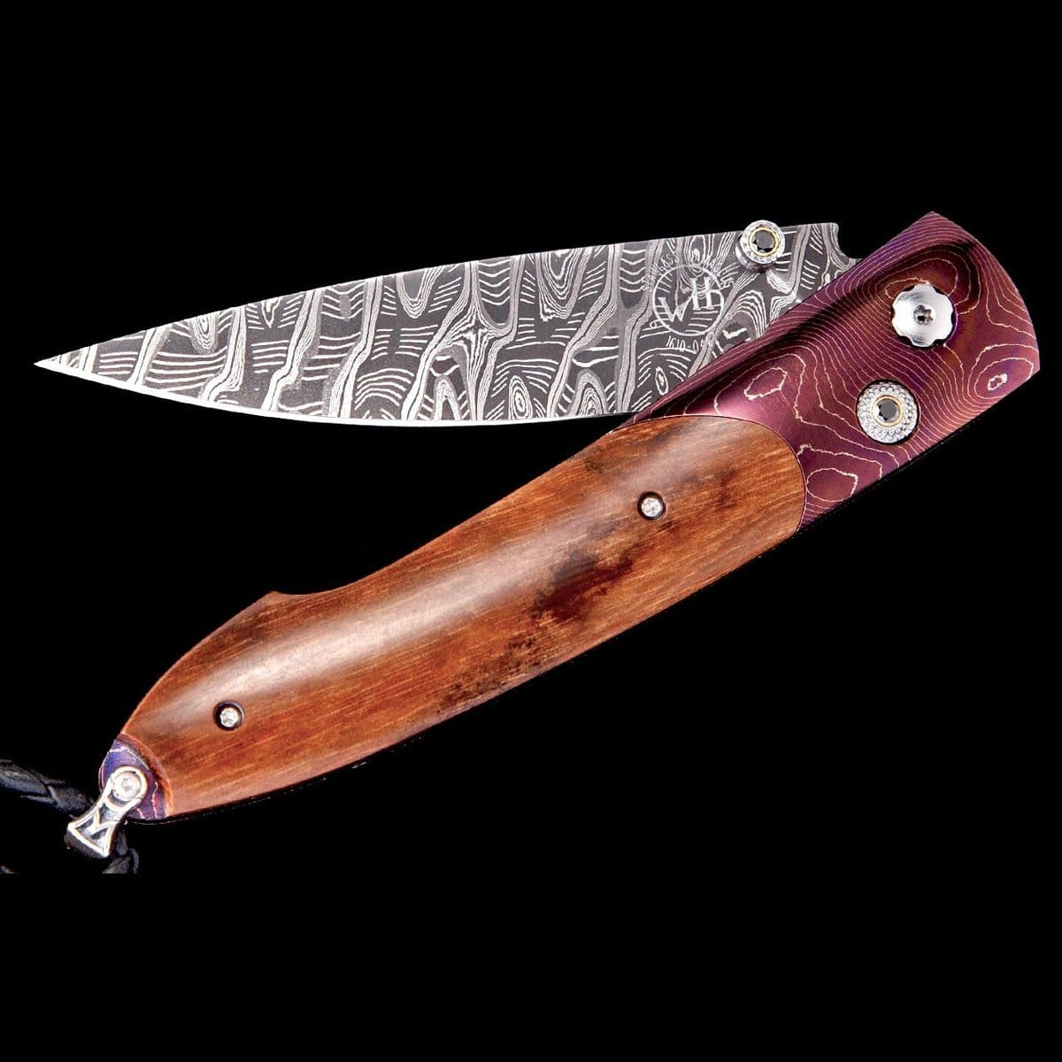 Lancet Orchid Limited Edition Knife - B10 ORCHID - William Henry