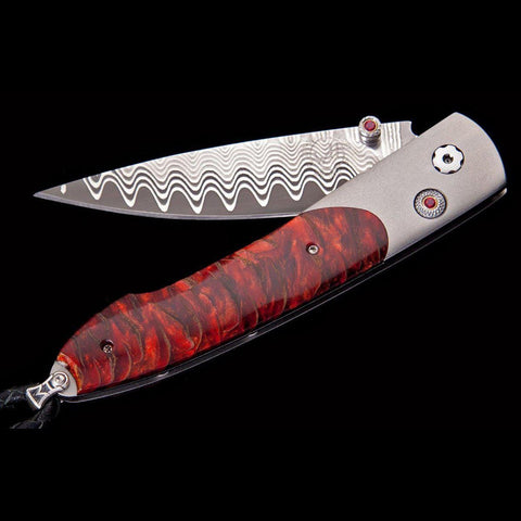 Lancet Scarlet Pine Limited Edition Knife - B10 SCARLET PINE - William Henry